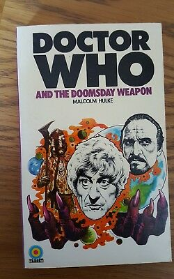 Doctor Who and the Doomsday Weapon by Malcolm Hulke.Target books. 1974 edition.