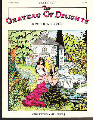 Chateau of Delights #[nn] (Summer 1990, Jabberwocky Graphix) GRAPHIC NOVEL