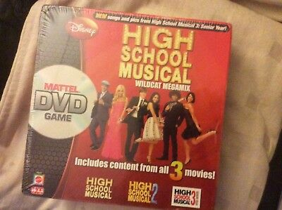 High School Musical Collectors DVD Board Game, Brand New