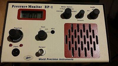 Blood Pressure Monitor BP-1 World Precision Instruments Very Good Condition.