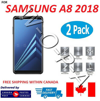 Fits Samsung Galaxy A8 2018 Premium Tempered Glass Screen Protector