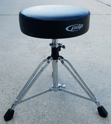 Adjustable PDP Drum Throne Chair 2ft Stool Sturdy durable strong