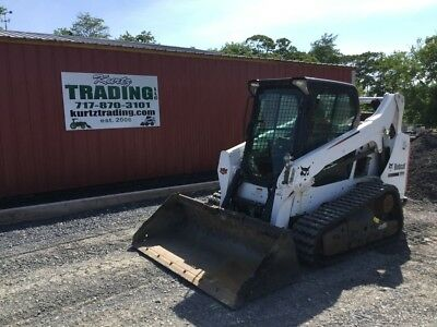 2014 Bobcat T590 Tracked Skid Steer Loader w/ Cab & High Flow Coming In Soon!