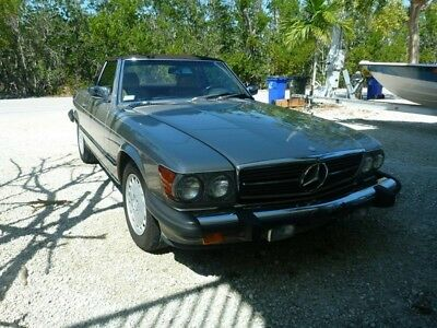 1989 Mercedes-Benz SL-Class SL560 1989 Mercedes-Benz 560SL Two Owner Only 67k Miles Florida Car All Books