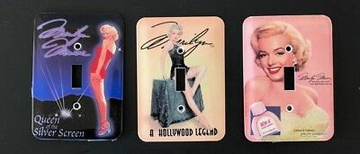 Lot 4 Marilyn Monroe Light Switch Plate Cover Outlet Home Decor Bedroom Bathroom