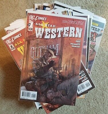 All Star Western 2011 #1-34 plus #0 complete series DC NEW 52