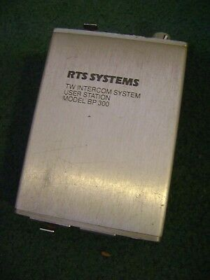 Rts Systems Tw Intercom Systems User Station  With Belt Clip  Bp 300