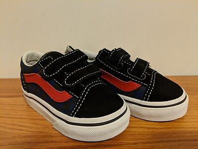 fa11a035ffce VANS NEW OLD Skool V Checkerboard Vault Toddler Size USA 5 -  19.99 ...