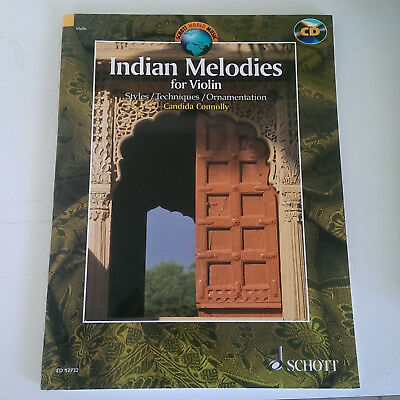 Indian Melodies for Violin Candida Connolly