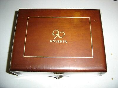"Sealed Cigar Box Carlos Torano Santiago 90 Noventa (Robusto) (5.0""x50)"