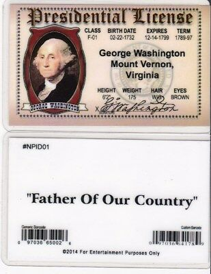 PRESIDENT GEORGE WASHINGTON Facts, Washington D C  -- 5