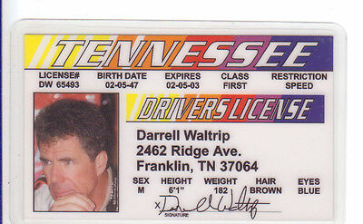2 Picclick d Fake License Id 97 Tn Tennessee Card I - Drivers