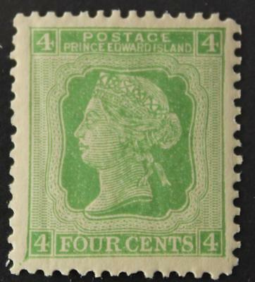 Prince Edward Island #14, VF, MNH OG, Queen Victoria Cents Issue, 1872