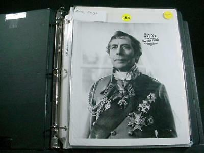 Original Vintage photograph of GEORGE ARLISS from THE IRON DUKE