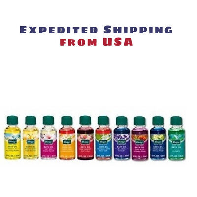 KNEIPP HERBAL BATH OIL COLLECTION - 10x 20ml  - Makes for a Wonderful Gift