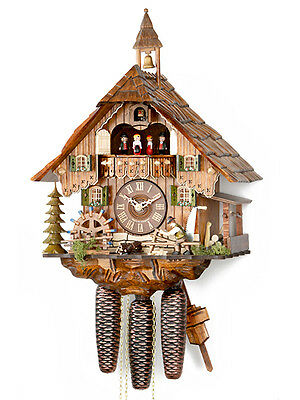 Original HEKAS Black Forest Cuckoo Clock Black Forest House NIP Black Forest