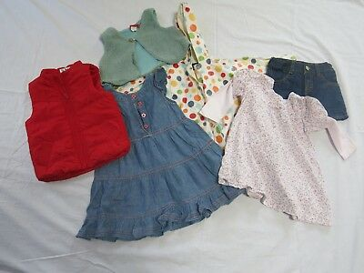 Girls Size 2 Winter Designer Clothing Bundle (includes Sprout, Bebe, Patch)