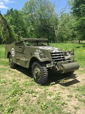1941 White Scout Car  WWII White Scout Car