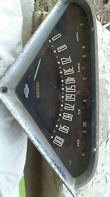 1955 1956 1957 1958 1959 Chevy Truck Speedometer Cluster Dash Assembly