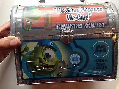 Monsters Inc ~ Tin Lunch Pail ~ New