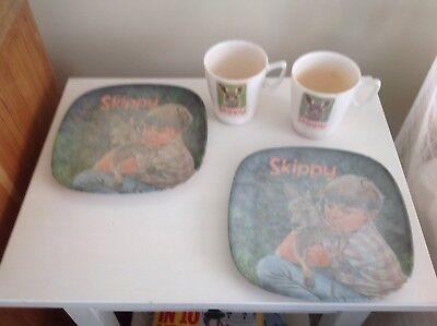 Skippy Plates & Cups