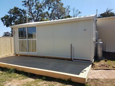NEW Flat Pack Cabin 19SQM, Kit Home, Granny Flat, Office,Fully Insulated