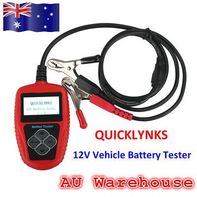 AU Ship QUICKLYNKS BA101 Battery Tester Battery Life Analysis For 12V Vehicle