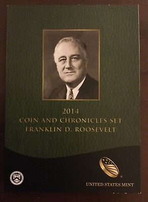 2014 Coin & Chronicles Set Franklin D Roosevelt  Complete Box & COA