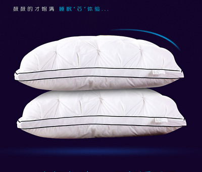 PREMIUM FEATHER BED PILLOWS - Luxury Health Care Pillowcore 5 Star Hotel Quality