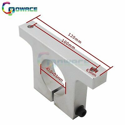 43mm Spindle Motor Aluminium Mount Bracket Neck Clamp Holder for CNC Router