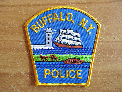 Police, New York, Buffalo Police, Patch, Uniform, Abzeichen,