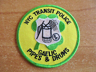 Police, City of New York, Transit Police, Patch, Uniform, Abzeichen,