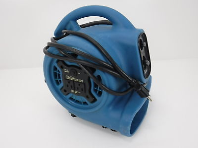 XPOWER P-230AT 1/5 HP 800 CFM 3 Speeds Mini Air Mover for - Parts or Repair