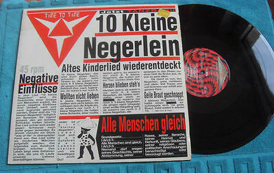 1 LP- 10 Kleine Negerlein - TIME TO TIME (1991) Power Brothers 1C 060-2 04285 6