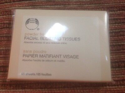 🌼 Body Shop Beauty Control Oil Absorbing Tissues Face Facial Blotting Tissues