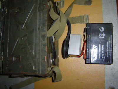 POWER SUPPLY UNIT 6.o Volts for BC-1000  Radio Military
