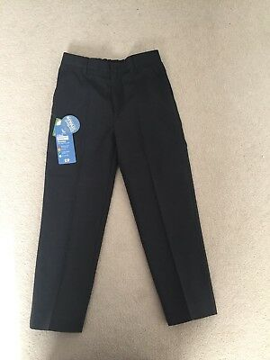 Boys Grey School Trousers Age 7 Years BRAND NEW