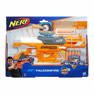 NERF gun with bullets N-STRIKE ELITE ACCUSTRIKE FALCONFIRE, B9839EU4