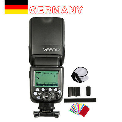Godox V860II-O 2.4G TTL HSS Camera Flash Speedlite For Olympus PL6 PL5 PL7 P3 P5