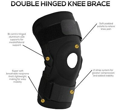 BOLD Neoprene Knee Support Brace Cap  Pad Guard Protector Gel Patella Belt Gym