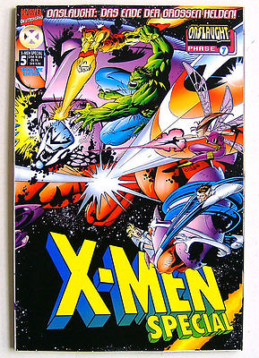 X-MEN SPECIAL - 5 - Reguläre Edition - ONSLAUGHT Phase 7