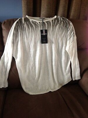marks and spencers size 16 top summer light weight limited edition m&s jumper