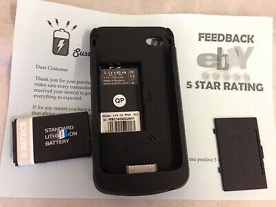 Linea Pro LP4 Card Reader / Barcode Scanner for iPod 4 - No cables as pictured P