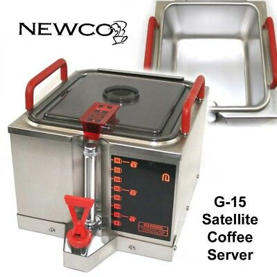 NEWCO G-15 1.5 Gallon Satellite Coffee Server for GXF1-15, GXF3-15, and GXDF2-15