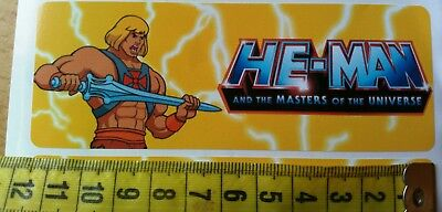 HE-MAN and the Master of the Universe Sticker Aufkleber 19 Stück 90er Old New