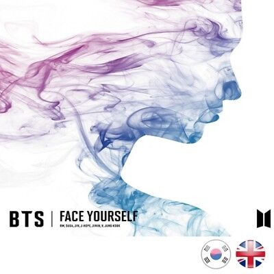 [NEW + SEALED!] BTS Face Yourself | Japanese CD 3rd Album K-pop Kpop UK