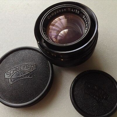 Schneider 50mm f4 Componon for 35mm Film  Enlarging Lens Professional SEE PHOTOS