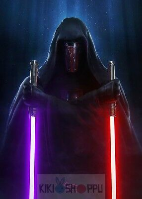 Poster A3 Star Wars Darth Revan Lord Sith 01