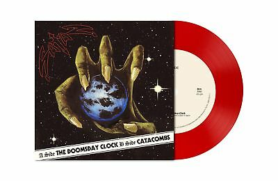 "SATAN Doomsday Clock 7"" TRANSPARENT RED Vinyl Single [LTD: 200]"