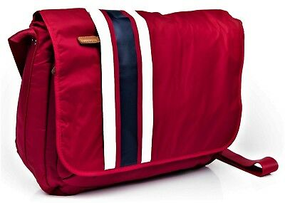 Borsa Tommy Hilfiger Messenger Bag Tracolla Uomo Donna Men Women Rosso Red